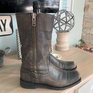 Frye Heath side zip boots